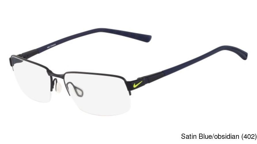 246ab1e819d9 Buy Nike 6053 Semi Rimless / Half Frame Prescription Eyeglasses