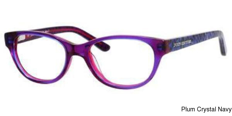 juicy couture juicy 913 full frame prescription eyeglasses