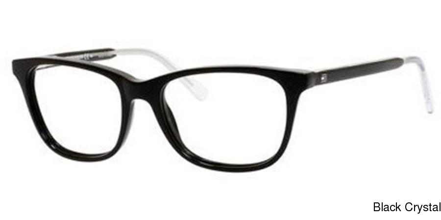665cb0695b Tommy Hilfiger 1234 Full Frame Prescription Eyeglasses