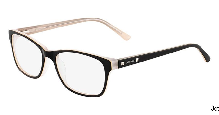 4656bdd4a5 bebe BB5075 - Join The Club Full Frame Prescription Eyeglasses
