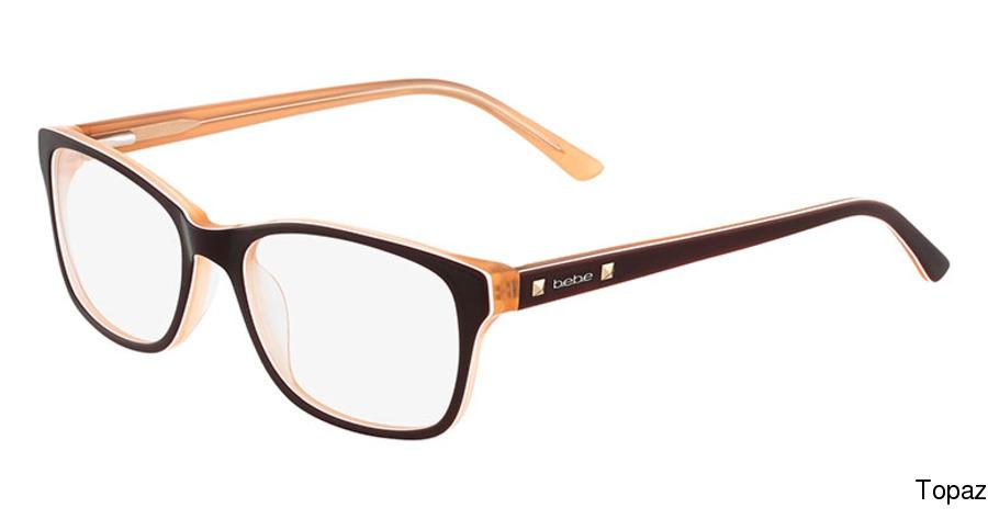 118f75bf541 bebe BB5075 - Join The Club Full Frame Prescription Eyeglasses