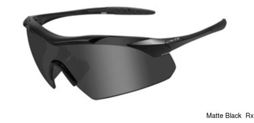 Wiley X Vapor Rx w Grey/Clear Lenses