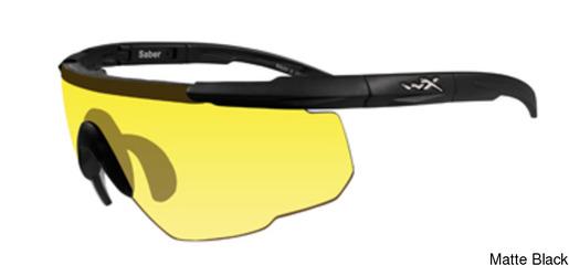 3ac593dc33 Wiley X Saber w Yellow Lens Semi Rimless   Half Frame Sunglasses Online