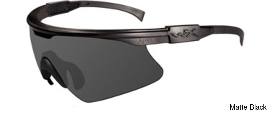 1fb53ee1d9c Buy Wiley X PT-1 Rx Insert w Grey Clear Rust Lenses Full Frame ...
