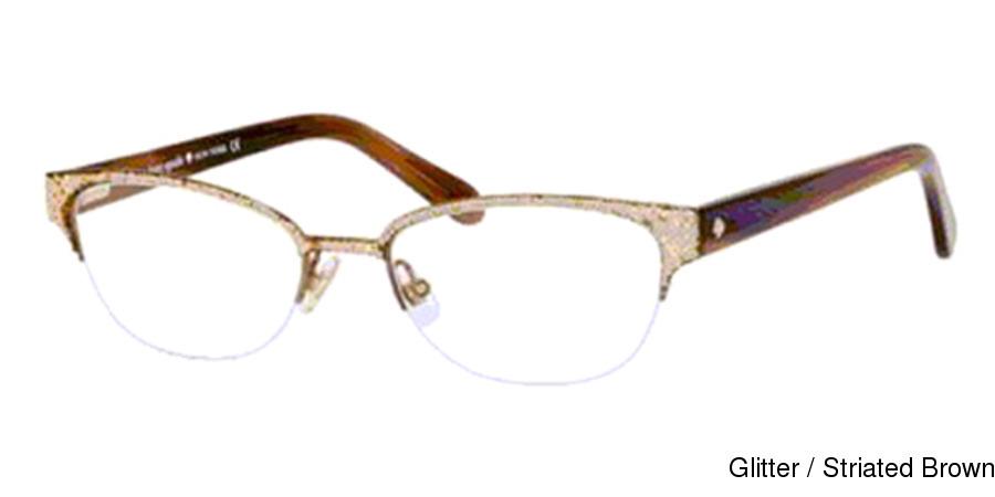 Buy Kate Spade Shayla Semi Rimless / Half Frame Prescription Eyeglasses