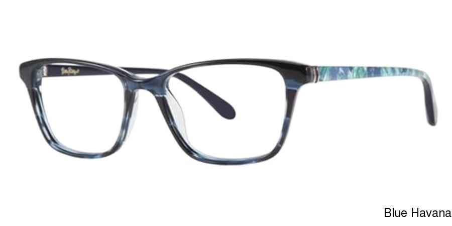 9358c1cf33d22 Buy Lilly Pulitzer Delfina Full Frame Prescription Eyeglasses