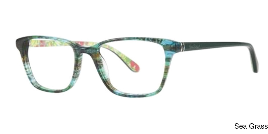 d19b7607b0 Lilly Pulitzer Delfina Full Frame Prescription Eyeglasses