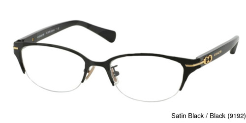 154b940d312 Coach HC5058 - Jackie Semi Rimless   Half Frame Prescription Eyeglasses