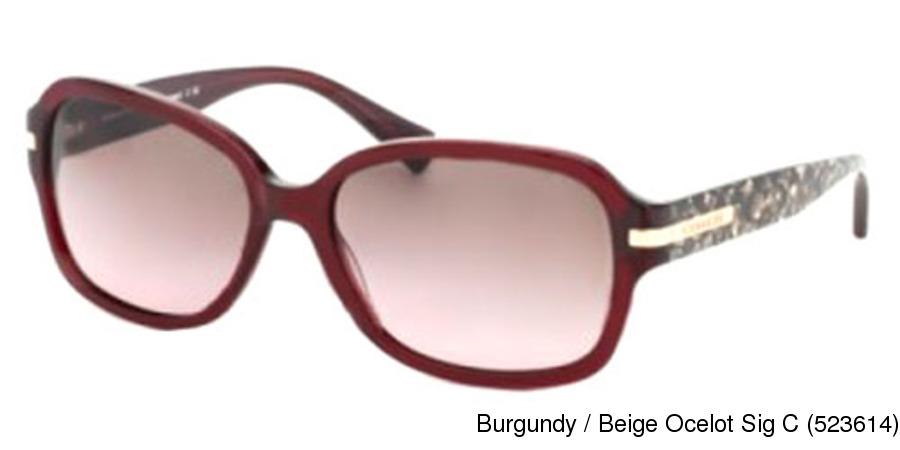 3a0315277a Coach HC8105 - Amber Full Frame Prescription Sunglasses