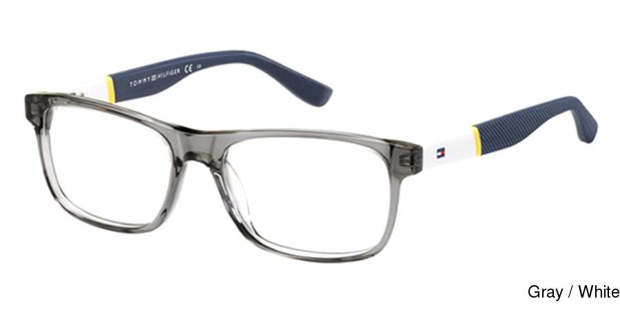 bd2f6f88609f Tommy Hilfiger 1282 Full Frame Prescription Eyeglasses