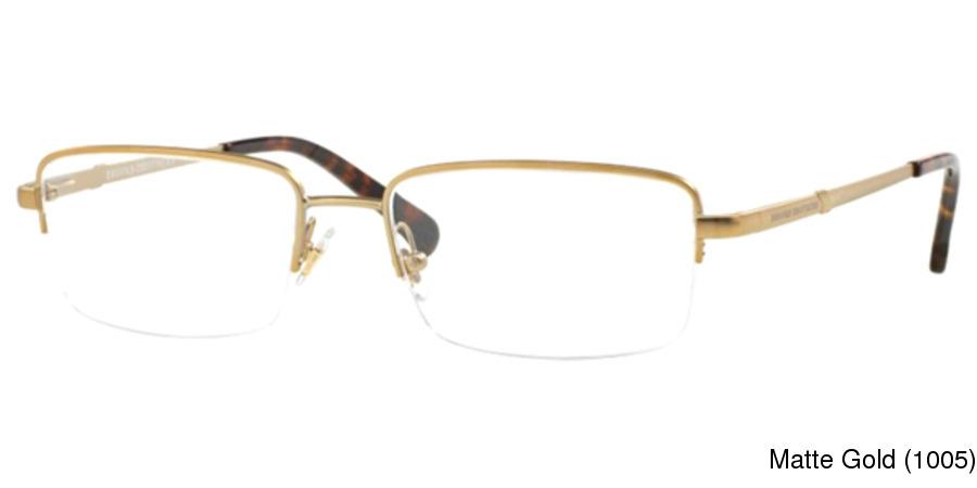 160d1b2f81 Brooks Brothers BB1035 Semi Rimless   Half Frame Prescription Eyeglasses