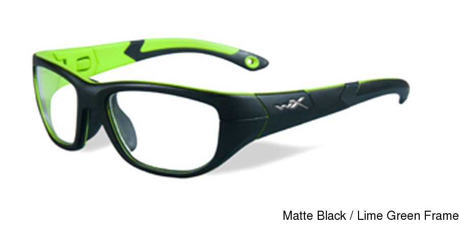 3c15308be51 Wiley X Youth Force Victory Full Frame Prescription Eyeglasses
