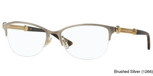Buy Versace VE1228 Semi Rimless / Half Frame Prescription Eyeglasses