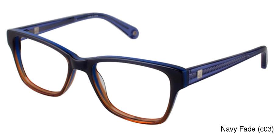 6868998355 Sperry Clearwater Full Frame Prescription Eyeglasses