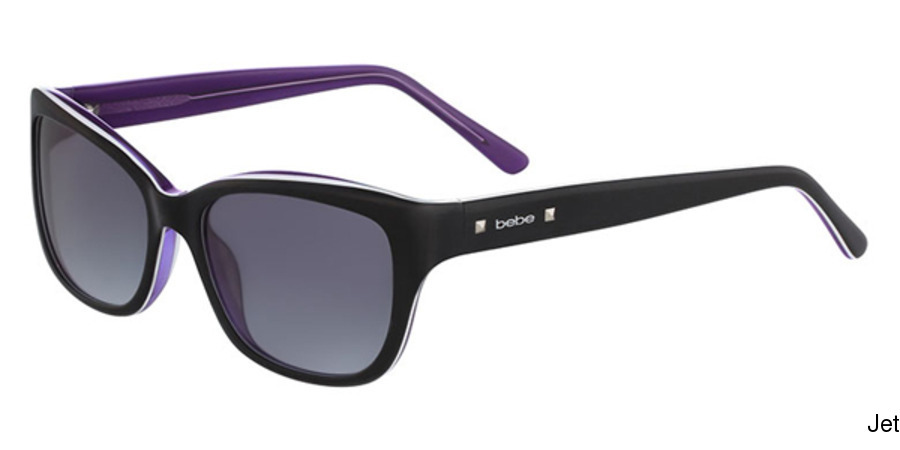 d49becfc58 Buy bebe BB7161 - Perspective Full Frame Prescription Sunglasses