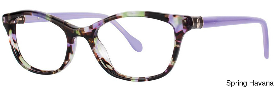 152edd69f8 Lilly Pulitzer Sawyer Full Frame Prescription Eyeglasses