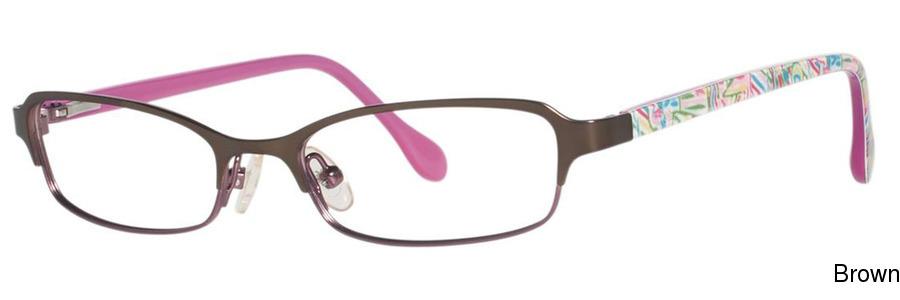 03c8ac812f Buy Lilly Pulitzer Girls Kimmy Full Frame Prescription Eyeglasses