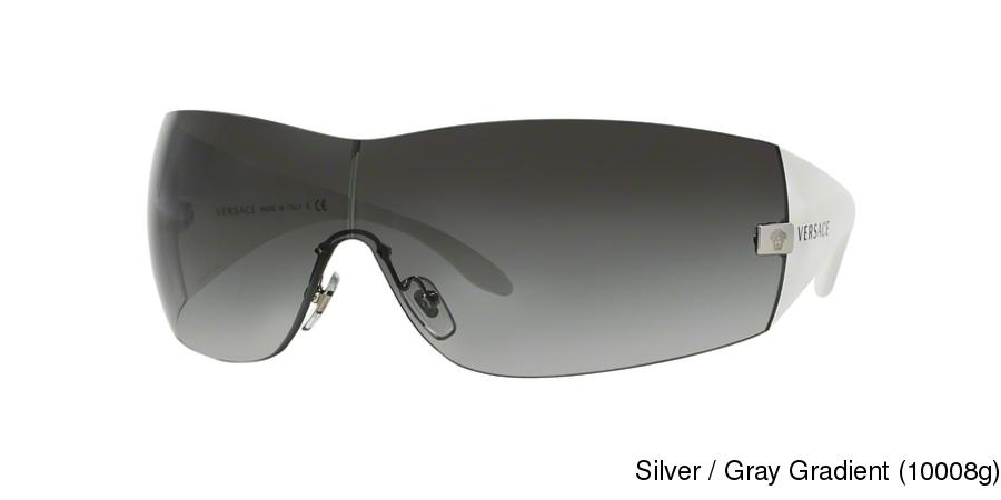 a12788ad36 Versace VE2054 Rimless   Frameless Sunglasses Online
