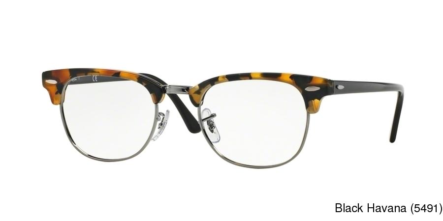 c01f56aee1a Ray Ban RX5154 Semi Rimless   Half Frame Prescription Eyeglasses
