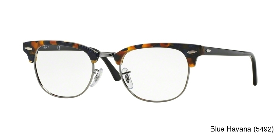 f6557939ca ... Blue Havana (5492) · Brown Havana (5494). Next. Ray Ban RX5154 New Model