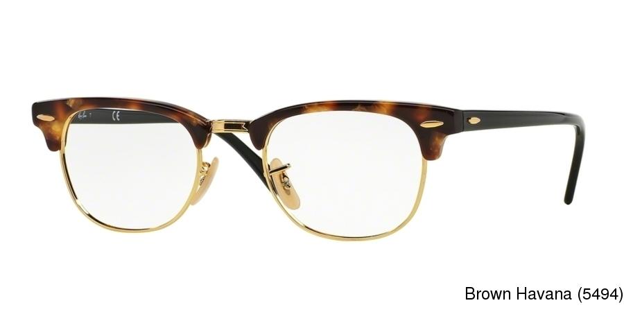 473cd53985 Ray Ban RX5154 Semi Rimless   Half Frame Prescription Eyeglasses