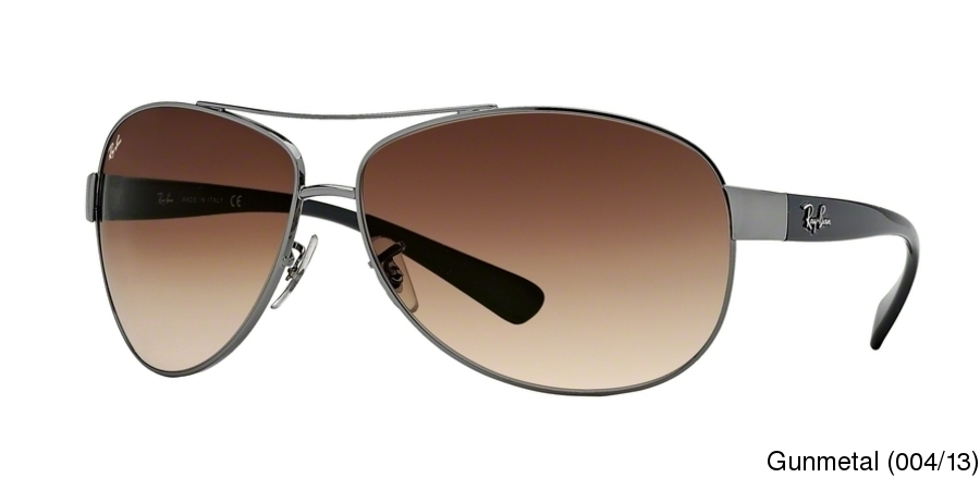 c08828fb57 Ray Ban RB3386 Gradient Full Frame Prescription Sunglasses