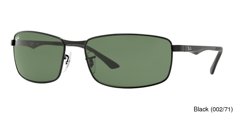 c606969ff7044 Ray Ban RB3498 Full Frame Prescription Sunglasses