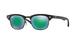 Matte Black / Green Mirror (100s3r)