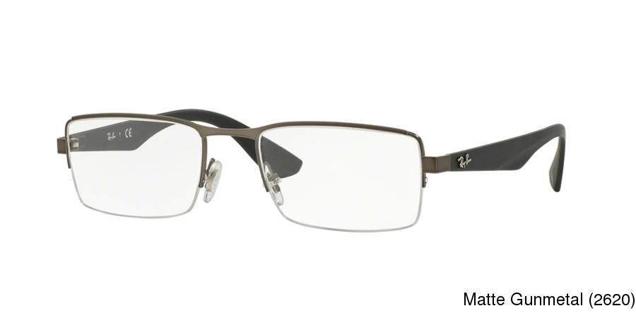 418509ee5f Buy Ray Ban RX6331 Semi Rimless   Half Frame Prescription Eyeglasses