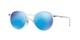 Matte Transparent / Blue Mirror (646/55)