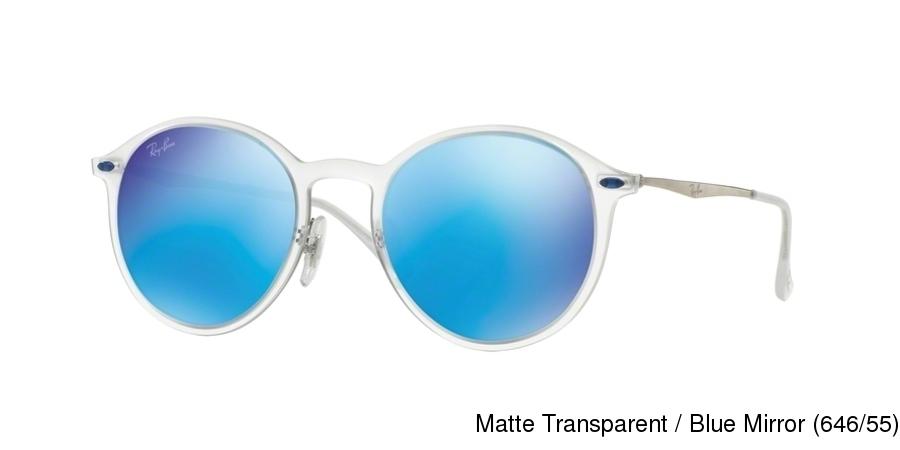 2b1a43a301006 ... Matte Transparent   Blue Mirror (646 55) · Matte Opal Yellow   Silver  Mirror (618630). Next. Ray Ban RB4224 New Model