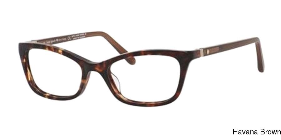 608c39ac765 Kate Spade Delacy Full Frame Prescription Eyeglasses