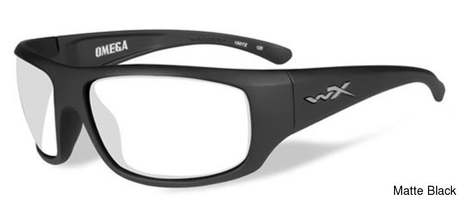 db5dc16ae894 Wiley X Omega with Clear Lens Full Frame Prescription Sunglasses