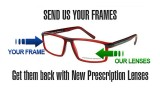 Premium Eyeglass Lenses Replacement Service