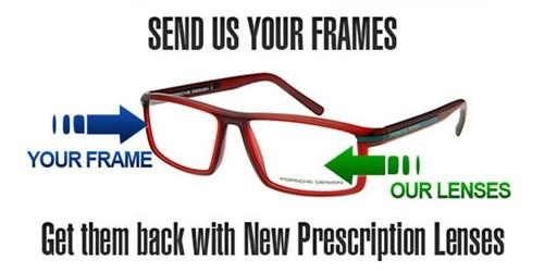 Eyeglass Lens Replacement Online