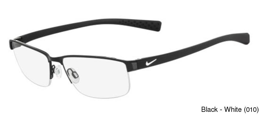 51cdb3c93943 Nike 8098 Semi Rimless / Half Frame Prescription Eyeglasses
