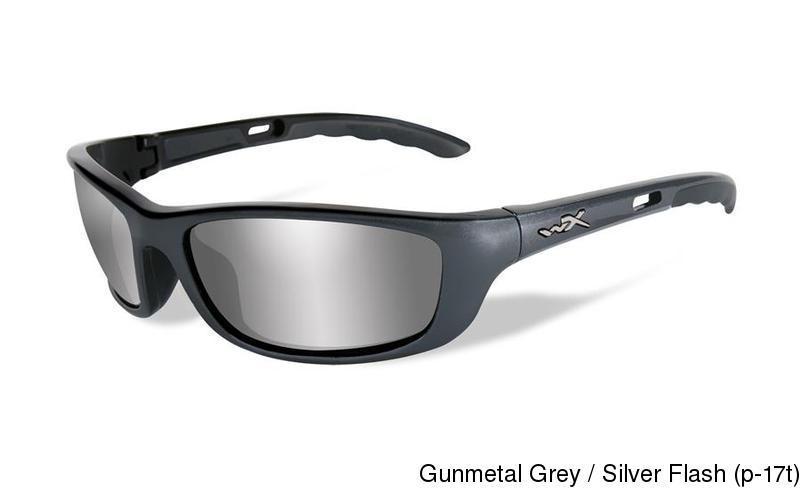 0ccc28d1e2470 Wiley X P-17. Gunmetal Grey   Silver Flash (p-17t) ...