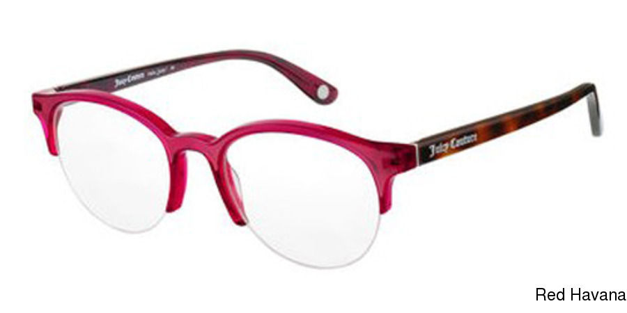 0884396286 Juicy Couture Juicy 164 Semi Rimless   Half Frame Prescription ...