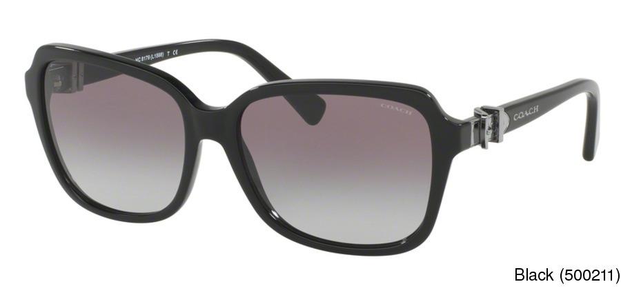 09b3af869ebac Coach HC8179 Full Frame Prescription Sunglasses