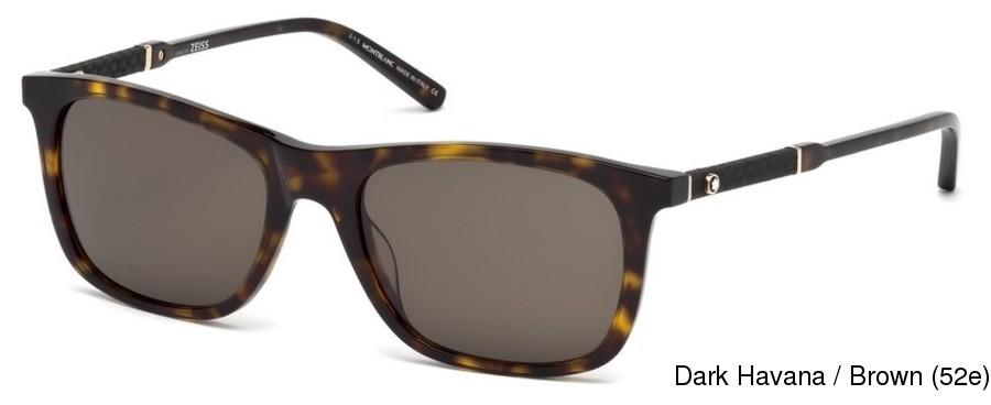 69f171b888 Montblanc MB606S Full Frame Prescription Sunglasses