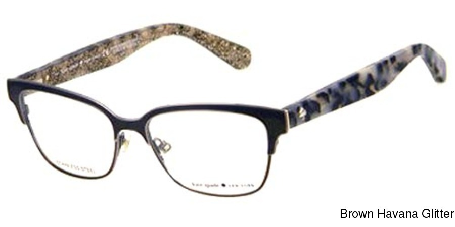 d6550718e66 Kate Spade Ladonna Full Frame Prescription Eyeglasses