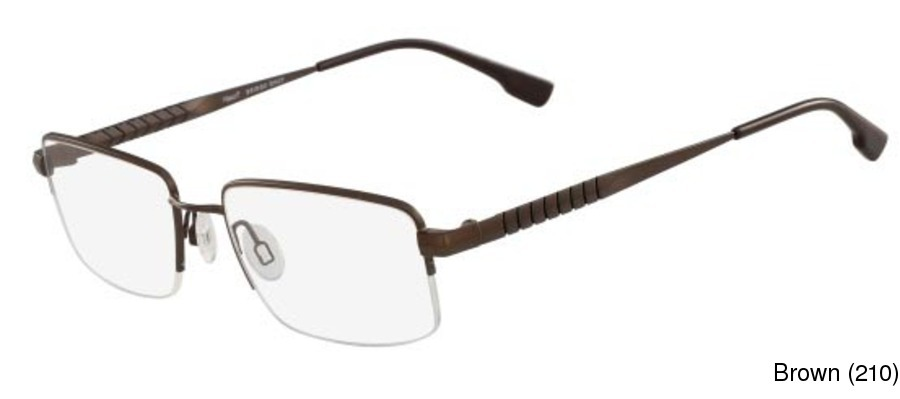 a402bb1ad2e1 Buy Flexon E1013 Semi Rimless   Half Frame Prescription Eyeglasses