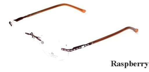 1a6fc5f36 Catherine Deneuve 205 Rimless Designer Brand Eyeglasses Rimless / Frameless  Prescription Eyeglasses