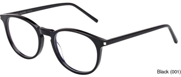 9ac4cbdfc56 Saint Laurent SL 106 Full Frame Prescription Eyeglasses