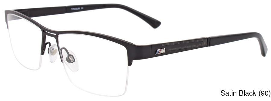 c7ba4aea7e BMW M1006 Semi Rimless   Half Frame Prescription Eyeglasses