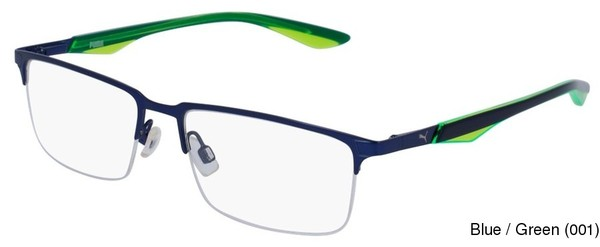 Buy PUMA PU0064O Semi Rimless / Half Frame Prescription Eyeglasses