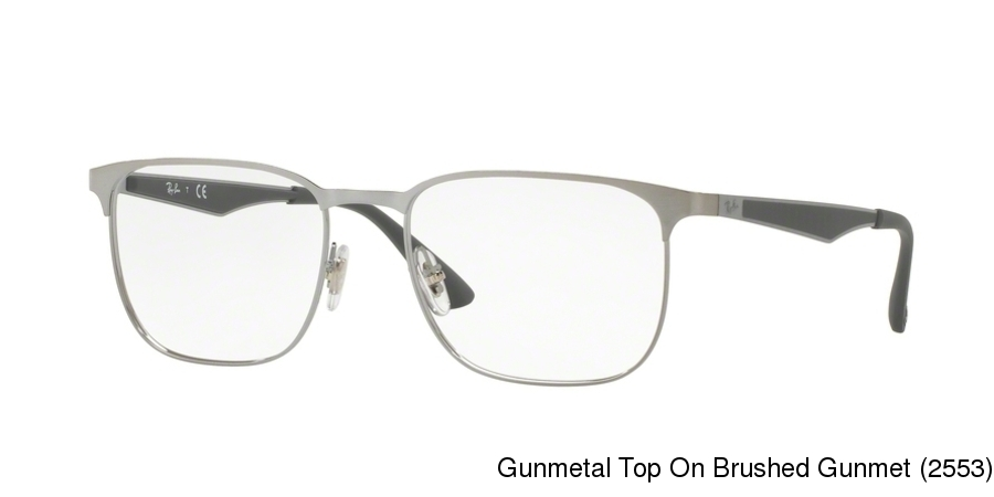 9d3cb78d7f Ray Ban RX6363. Previous. Gunmetal Top On Brushed Gunmet (2553) ...