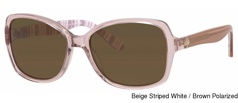 89a07a5287 Kate Spade Ayleen P S. Beige Striped White   Brown Polarized · Black Ptt  White   Gray Polarized ...