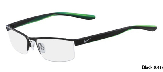 6288ef3e28 Nike 8173 Semi Rimless   Half Frame Prescription Eyeglasses