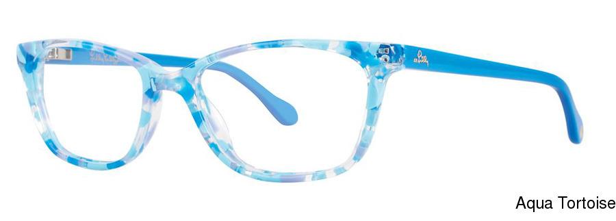 0e933ce1d49f6 Lilly Pulitzer Girls Livie Full Frame Prescription Eyeglasses